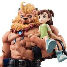 G.E.M. Series Digimon Tamers Leomon & Jeri Katou