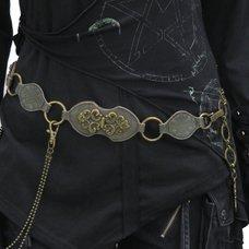 Ozz Croce Buckle Chain Belt