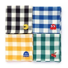 Pac-Man Cross-Stitch Handkerchiefs