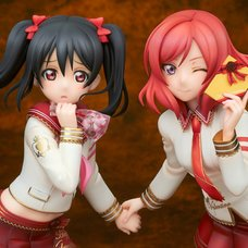 Love Live! School Idol Festival Nico Yazawa & Maki Nishikino: Valentine Ver. 1/7 Scale Figure