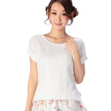 LIZ LISA Loose Knit Sleeveless Shirt