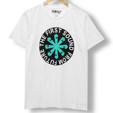 Hatsune Miku First Sound from the Future Logo White T-Shirt