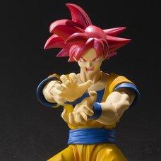 S.H.Figuarts Dragon Ball Super: Super Saiyan God Son Goku