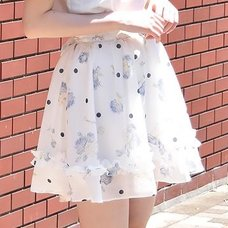 LIZ LISA Dot Rose Skirt