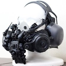 Black Cyberpunk Mask