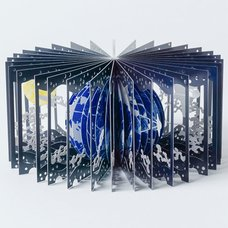 Earth and the Moon 360° Book