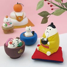 concombre New Year Shrine Visit Diorama Collection