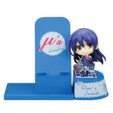 Choco Sta Love Live! Umi Figure & Smartphone Stand