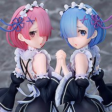 Re:Zero -Starting Life in Another World- Rem & Ram: Twins Ver. 1/7 Scale Figure