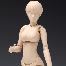1/12 Scale Movable Body Female Type [Ver. B] Plastic Model SR-023