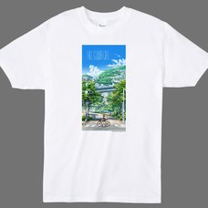 Japan Anima(tor) Expo T-Shirt #2: Hill Climb Girl