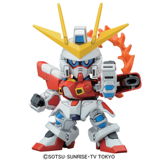 BB SD Build Burning Gundam
