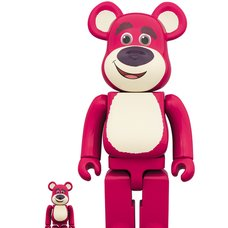 BE@RBRICK Toy Story 3 Lots-O'-Huggin' Bear 100% & 400% Set