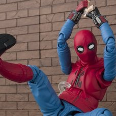 S.H.Figuarts Spider-Man: Homecoming Spider-Man Homemade Suit Ver. w/ Tamashii Option Act Wall