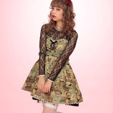 Swankiss 2-Way Gobelin Tapestry Dress