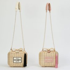 Honey Salon Perfume Rattan Shoulder Bag
