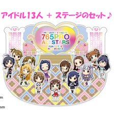 The Idolm@ster Producer Meeting 2017 Official Acrylic Stage Set