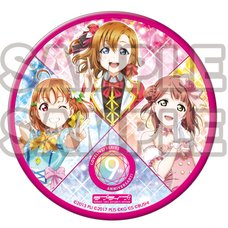 Love Live! Series 9th Anniversary Deka Pin Badge