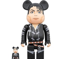 BE@RBRICK Michael Jackson Bad 100% & 400% Set