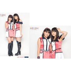 Morning Musume。'15 Fall Concert Tour ~Prism~ 2L-Size Two Shot Photo Set (Riho Sayashi x Akane Haga)