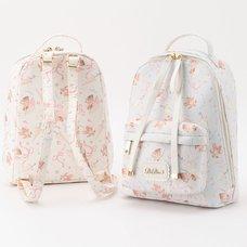 LIZ LISA Poodle Pattern Backpack