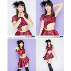 Morning Musume。'15 Fall Concert Tour ~Prism~ Miki Nonaka Solo 2L-Size 4-Photo Set C