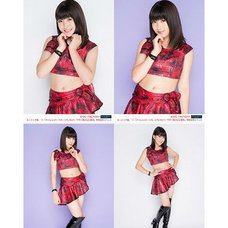 Morning Musume。'15 Fall Concert Tour ~Prism~ Akane Haga Solo 2L-Size 4-Photo Set C