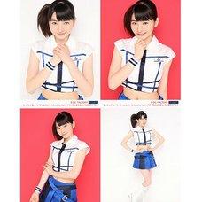 Morning Musume。'15 Fall Concert Tour ~Prism~ Haruna Ogata Solo 2L-Size 4-Photo Set B