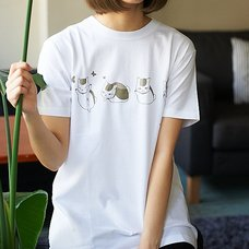 97th Single Nyanko-Sensei and Butterflies T-Shirt