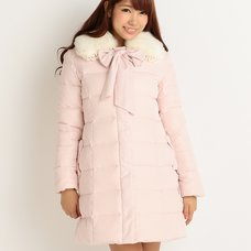 LIZ LISA Down Coat w/ Faux Fur Tippet (Limited Edition)