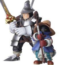 Bring Arts Final Fantasy IX Vivi Ornitier & Adelbert Steiner Set
