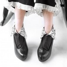 ERIMAKI SOX Lace Collar Socks