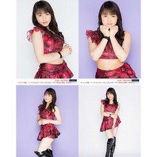 Morning Musume。'15 Fall Concert Tour ~Prism~ Riho Sayashi Solo 2L-Size 4-Photo Set C
