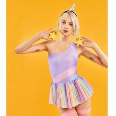 YUMMY MART Unicorn Swimsuit Set