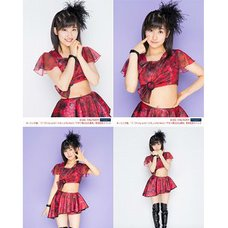 Morning Musume。'15 Fall Concert Tour ~Prism~ Masaki Sato Solo 2L-Size 4-Photo Set C