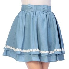 LIZ LISA Semi-Dungaree Skirt