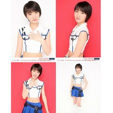 Morning Musume。'15 Fall Concert Tour ~Prism~ Haruka Kudo Solo 2L-Size 4-Photo Set B