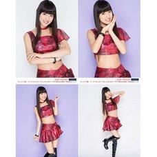 Morning Musume。'15 Fall Concert Tour ~Prism~ Haruna Iikubo Solo 2L-Size 4-Photo Set C
