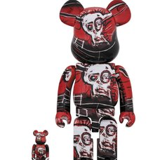 BE@RBRICK Jean Michel Basquiat Vol. 5 100% & 400% Set