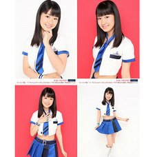 Morning Musume。'15 Fall Concert Tour ~Prism~ Miki Nonaka Solo 2L-Size 4-Photo Set B