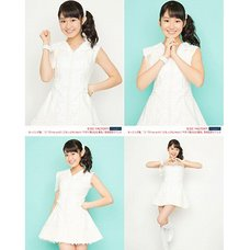 Morning Musume。'15 Fall Concert Tour ~Prism~ Miki Nonaka Solo 2L-Size 4-Photo Set A