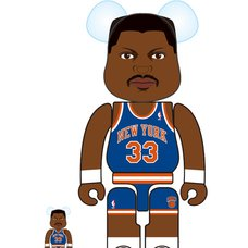 BE@RBRICK New York Knicks Patrick Ewing 100% & 400% Set
