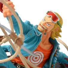 One Piece SCultures Big Figure Colosseum Ura Zokeio Chojo Kessen 4 Vol. 8 - Pauly