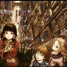 Yoshitoshi ABe 20th Anniversary Tapestry - City of Celebration: Night