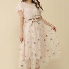 Honey Salon Flower Tulle Dress