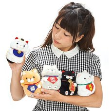 Hige Manjyu Manekineko Cat Plush Collection (Standard)