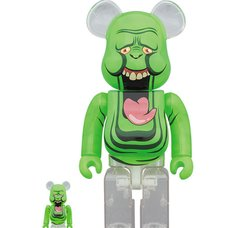 BE@RBRICK Ghostbusters Slimer Green Ghost 100% & 400% Set