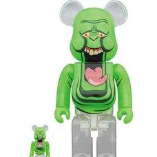 BE@RBRICK Ghostbusters Slimer Green Ghost 100% & 400% Set