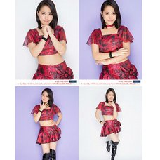 Morning Musume。'15 Fall Concert Tour ~Prism~ Sakura Oda Solo 2L-Size 4-Photo Set C