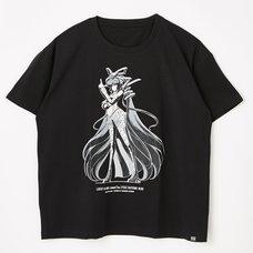 Hatsune Miku Lucky☆Orb Miku Art Black T-Shirt